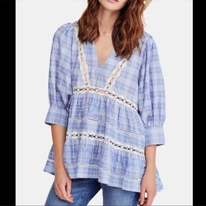 🌺BOUTIQE🌺Free people time out lace tunic